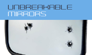 Unbreakable mirrors