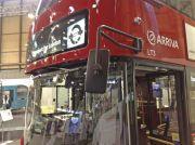 London bus mirror