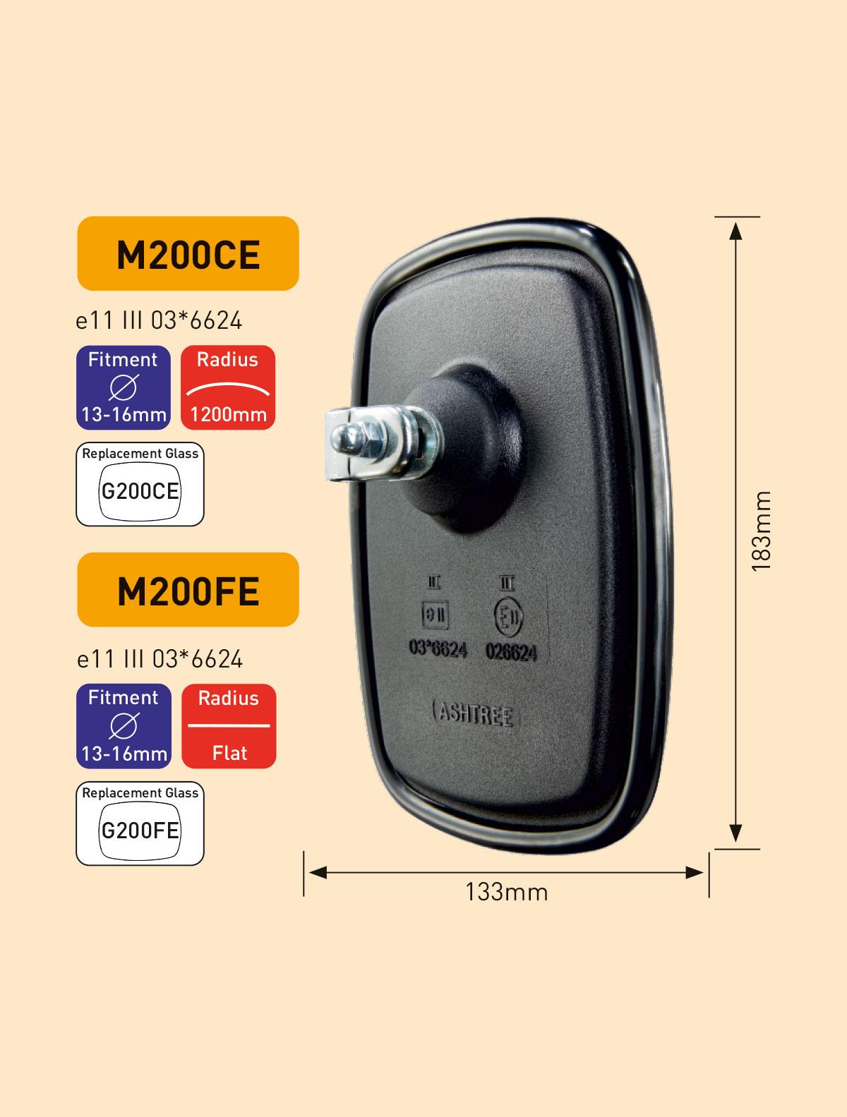 M200CE M200FE Main mirror