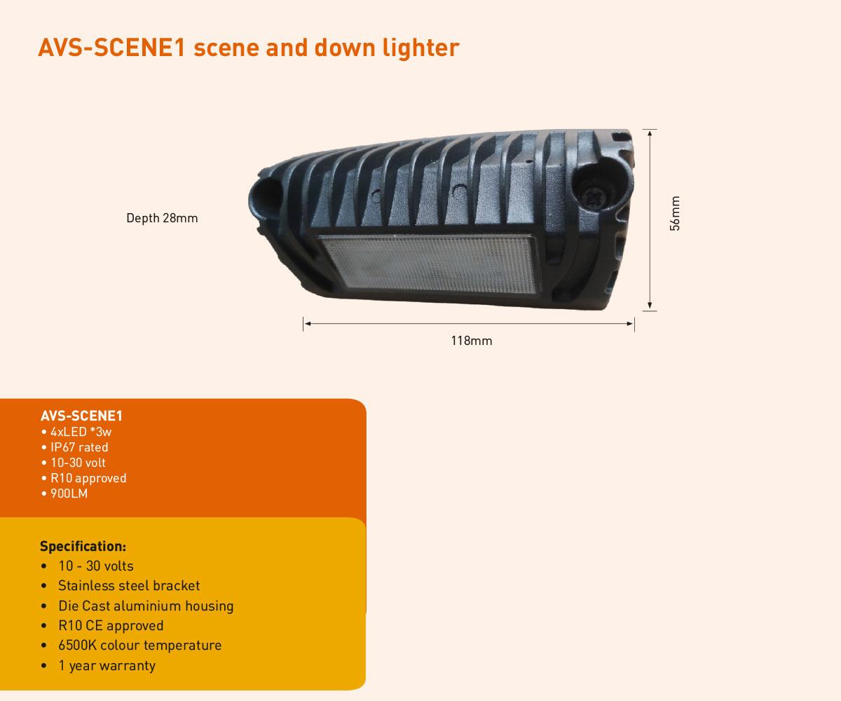 AVS-SCENE1 scene light