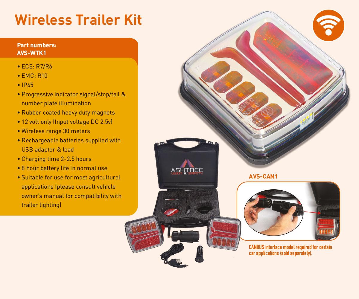 AVS-WTK1 Wireless trailer kit
