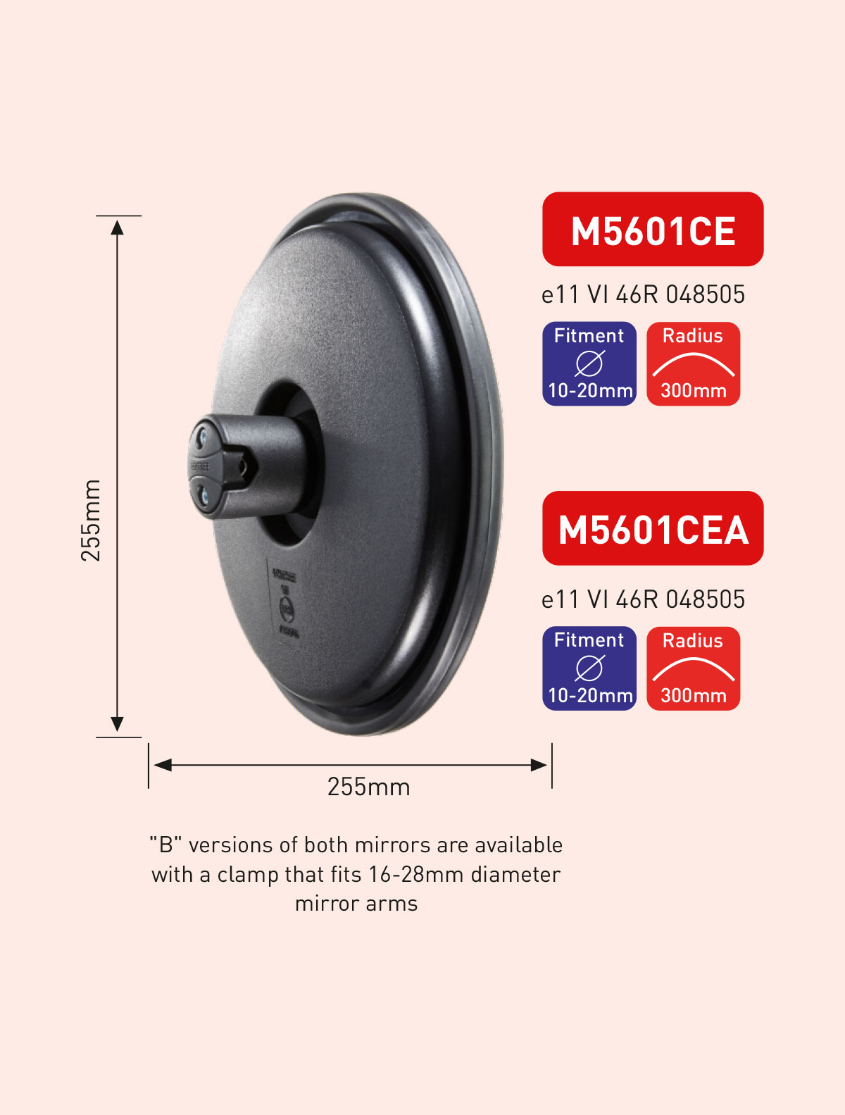 M5601CE M5601CEA Safety Mirrors