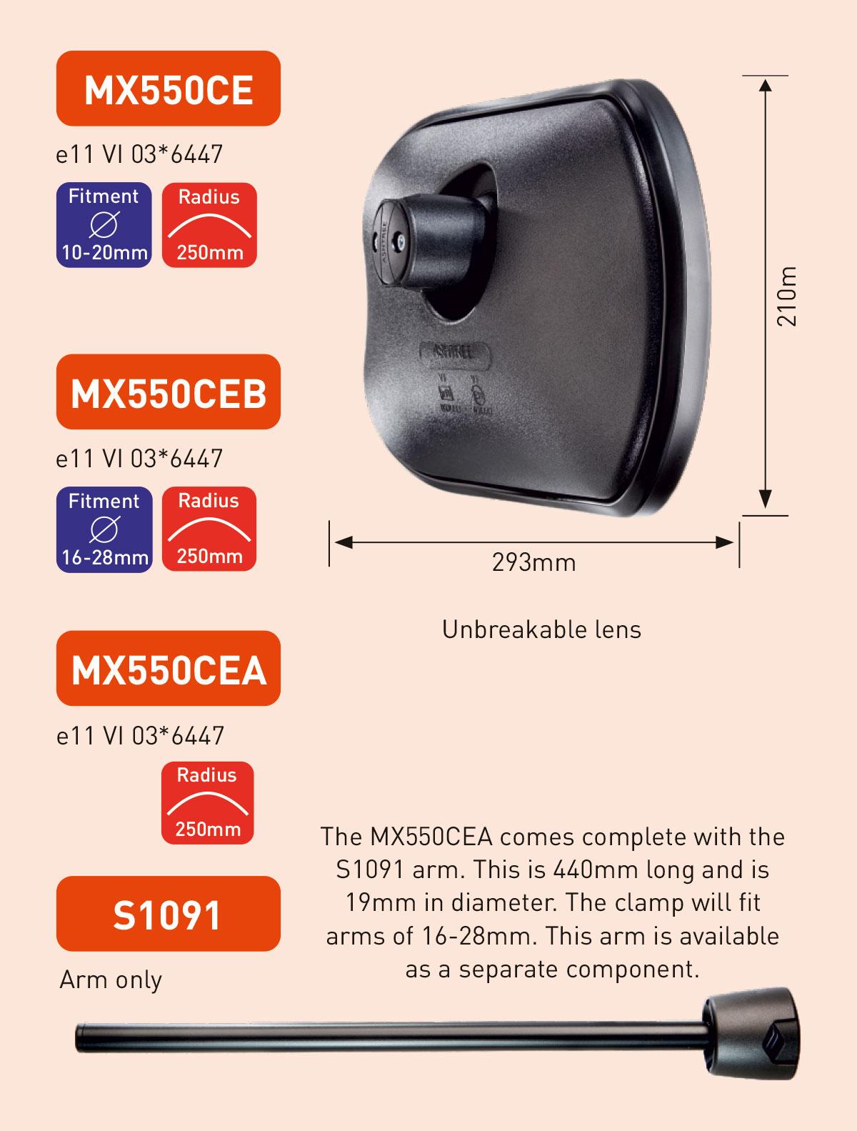 MX550CE MX550CEB MX550CEA S1091