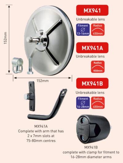 MX941 MX941A MX941B