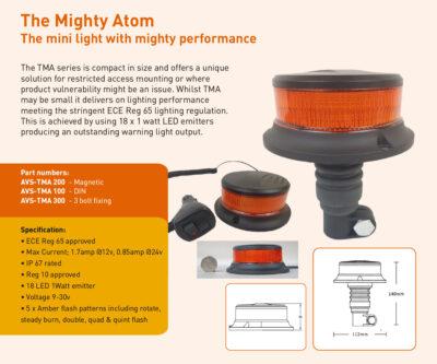 Mighty atom AVS-TMA200 AVS-TMA100 AVS-TMA300
