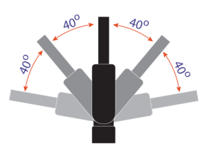 flexible mirror mount
