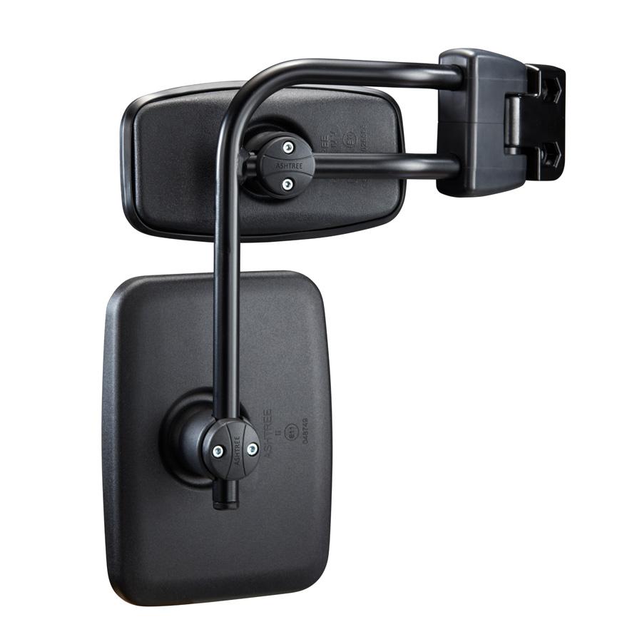 S1800 doiuble mirror arm configuration